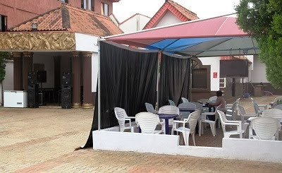 0 PHOTOS: Comedian Seyi Law opens multi million naira lounge in Ikorodu