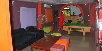 1 PHOTOS: Comedian Seyi Law opens multi million naira lounge in Ikorodu
